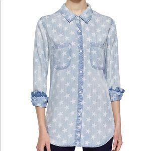 Rails Carter Star Print Button Down Shirt